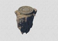 rocks 3D model 123