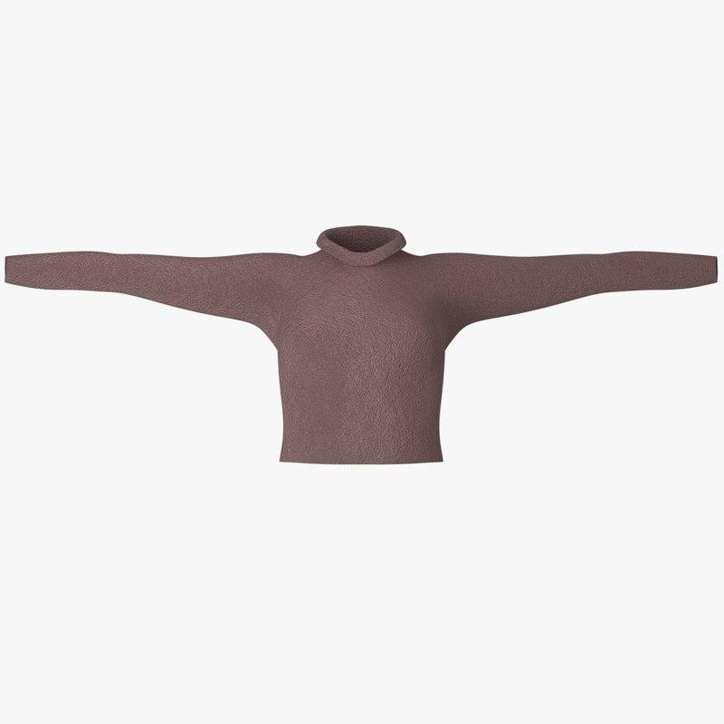 3D t-shirt female t shirt model
