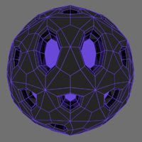 ball space 3D model