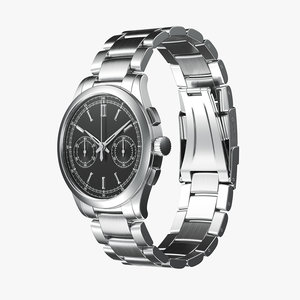 luxury watch 3D model