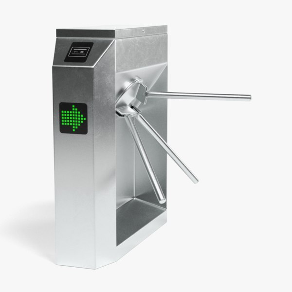 rotary barrier gate 3D