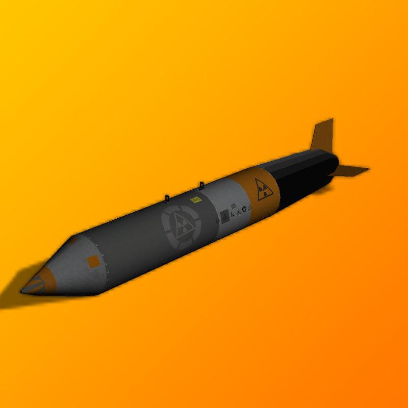 nucklear bomb model
