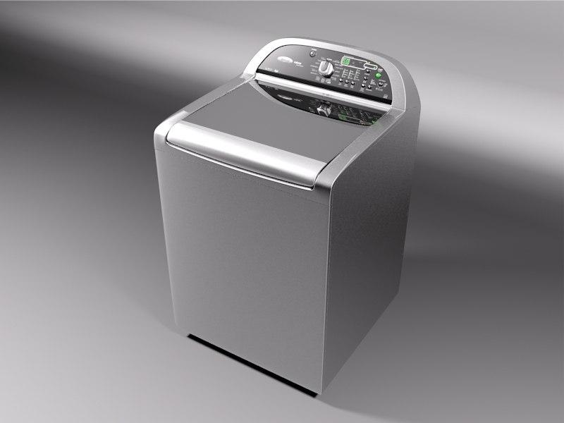 3D washer whirlpool cabrio platinum