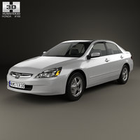 3D model honda accord 2004