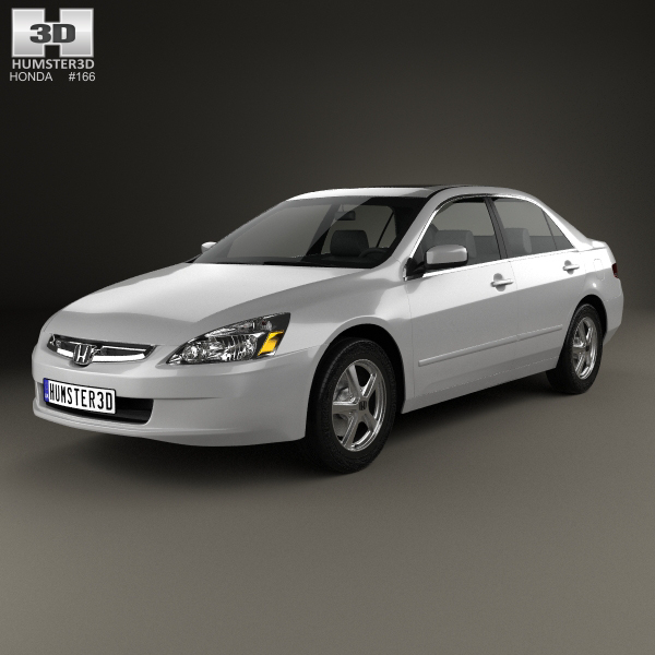 3D model honda accord 2004