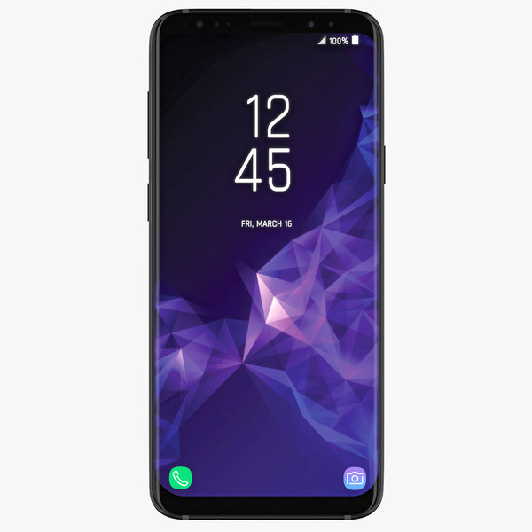 3D samsung galaxy s9 colors