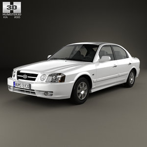 3D model kia magentis 2002