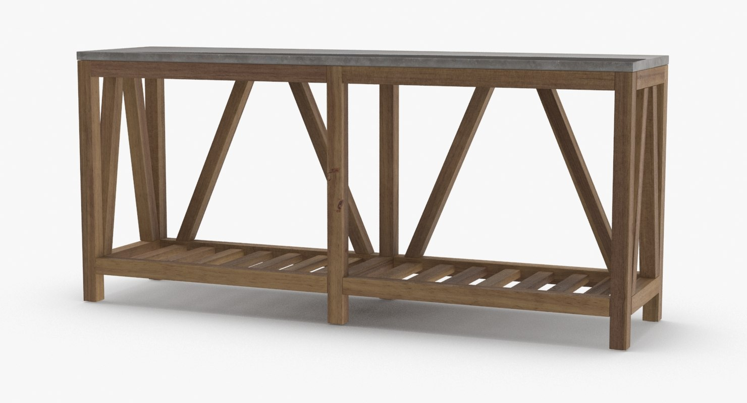 3D contemporary-console-table