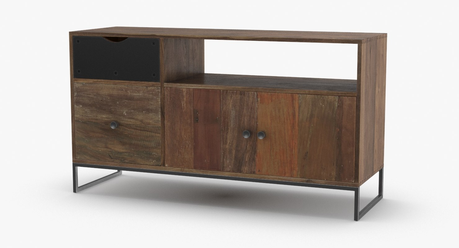 Credenza Contemporary : Large contemporary modern credenza for sale at stdibs