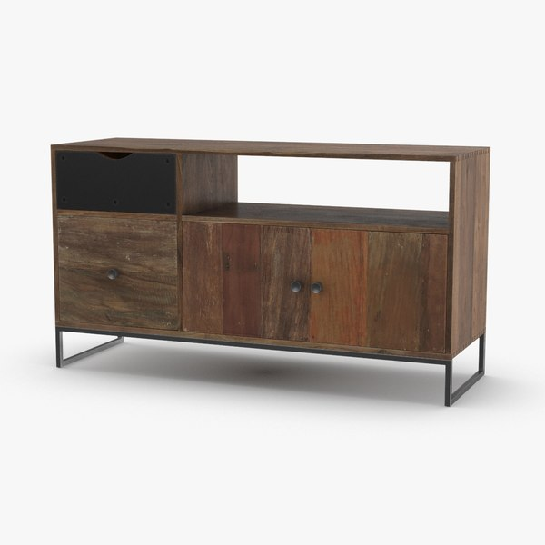 contemporary-credenza 3D model