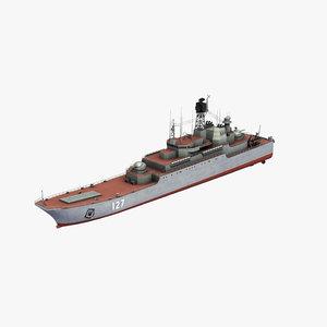 ropucha landing ship 3D