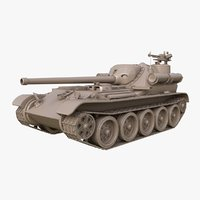 3D tank uralmash su 101