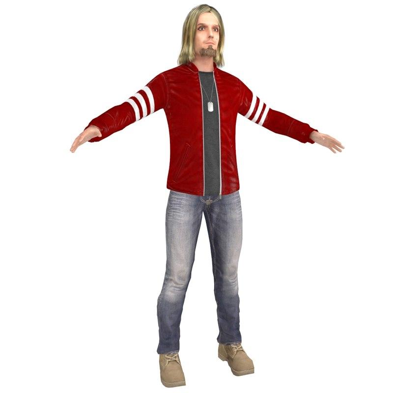 urban man model
