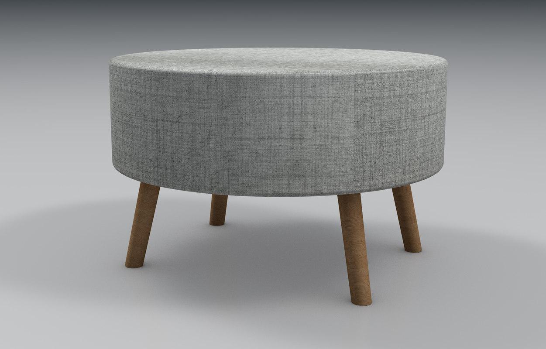 3D soft wooden legs