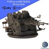 3D model type 96 gun