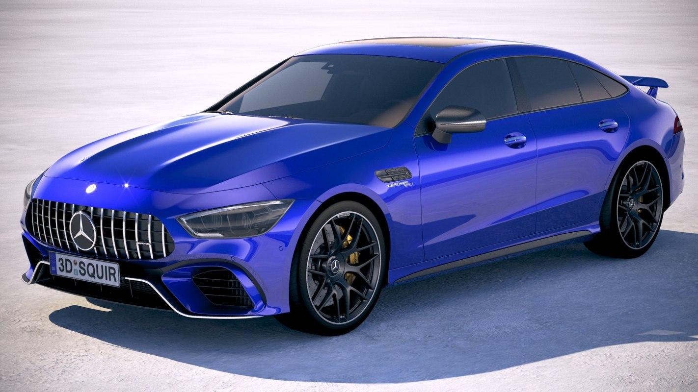 mercedes amg 2019 3D model