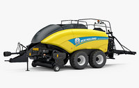 3D new holland bigbaler 1290 model