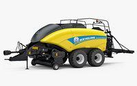 3D new holland bigbaler 1290 model