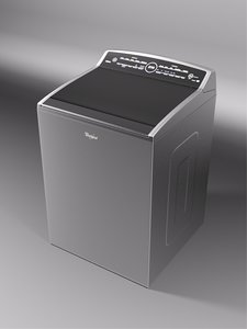 whirlpool smart cabrio washer 3D