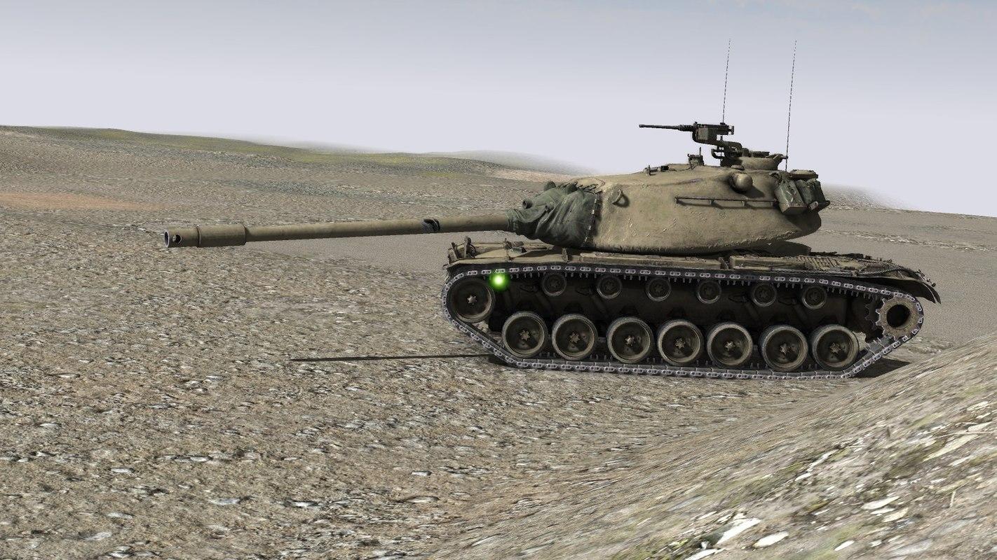 3D model m103 heavy tank m103a2