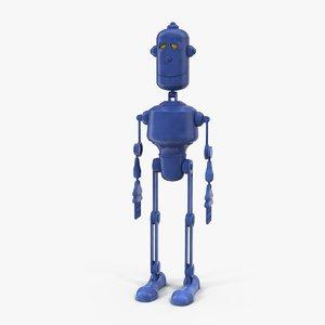 phlegmatic robot 3D model