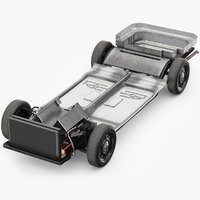 3D model chassis frame
