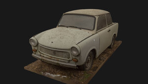 trabant vintage super car model