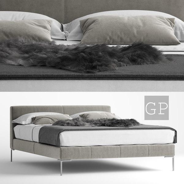 3D b italia charles bed
