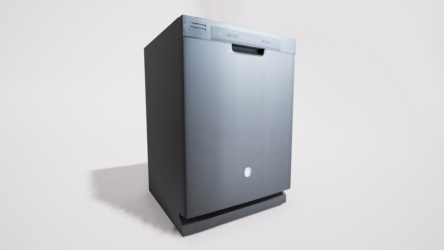 ge dishwasher 3D model