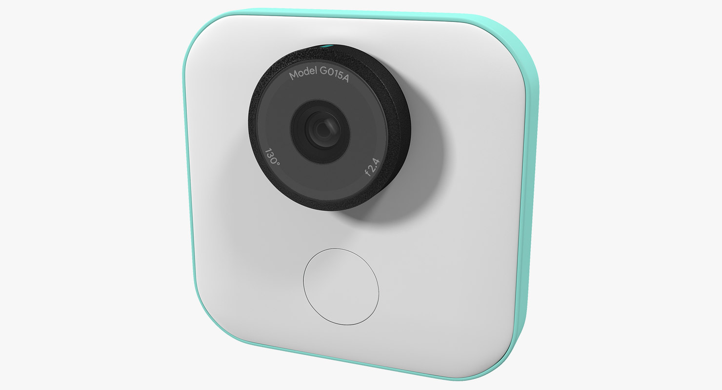 3D google clips wireless camera