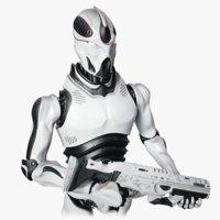 Robot Soldier Concept