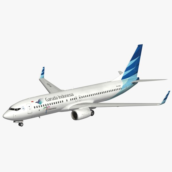 boeing garuda 3D model