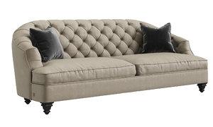 3D toscanova savon sofa