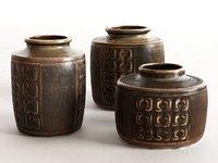Danish Vase Set