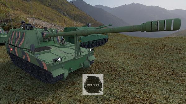 3D army turkish obus