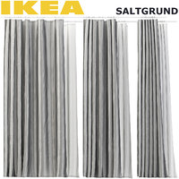 3D ikea saltgrund shower curtain