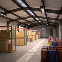 Small Warehouse Scene