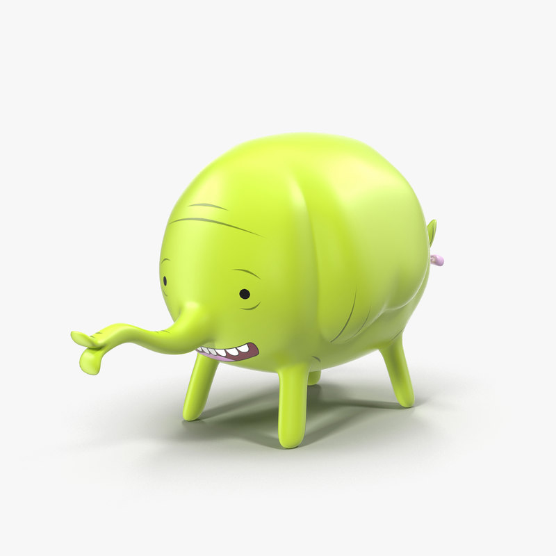 tree trunks 3D model