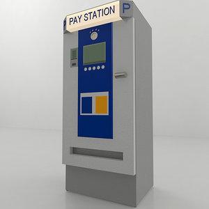 structural car park pay 3D