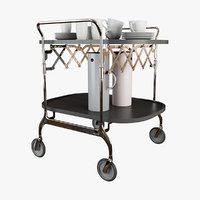 3D gastone trolley
