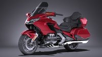 3D honda goldwing 2018 model