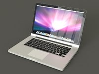 3D macbook mac model