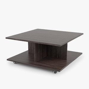 - coffee table zegen 3D model