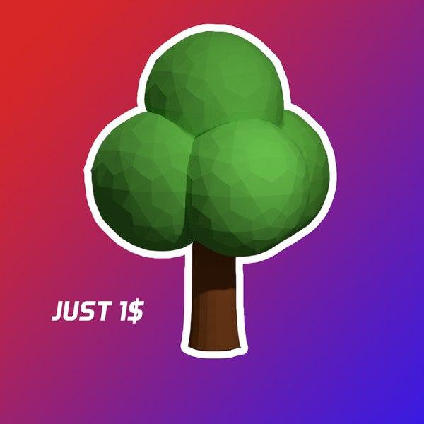 3D tree mario 64