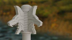 aerondight sword 3D model
