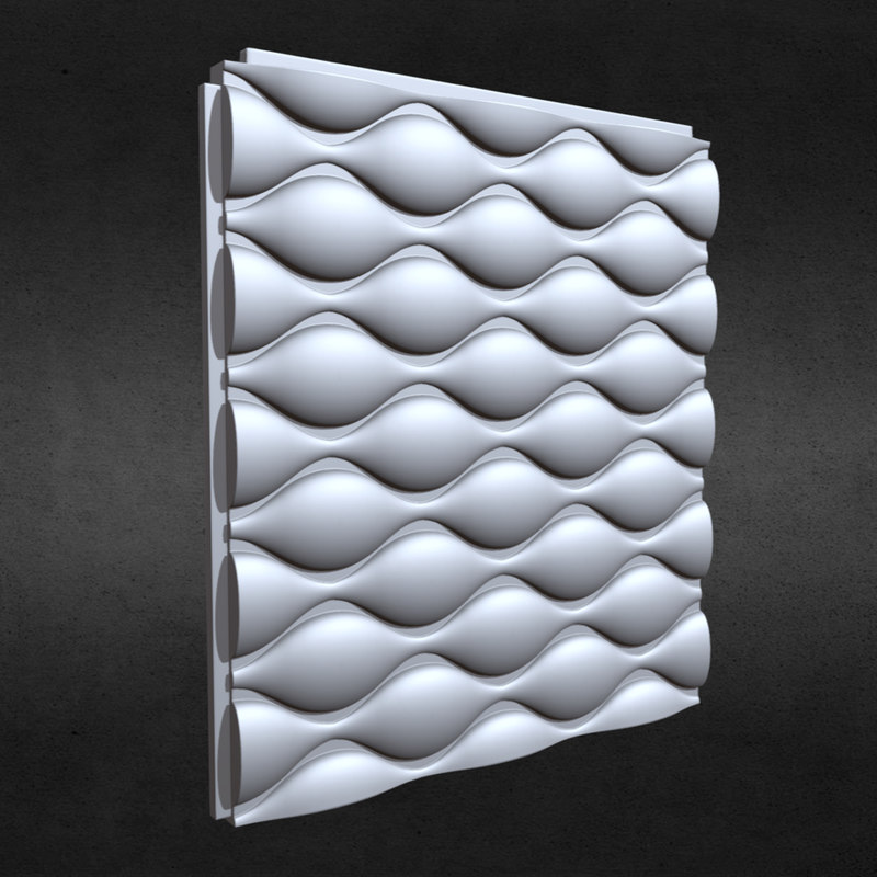 3D model wall panel 10