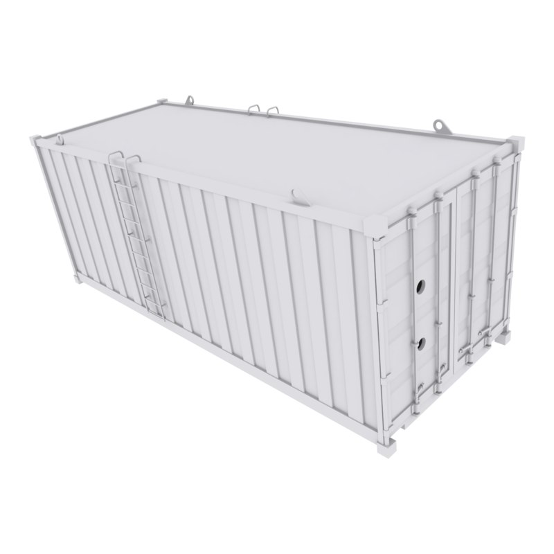 container ready games 3D model
