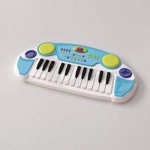 electronic keyboard toy 3D