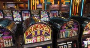 casino interior 3D