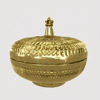palace brass box 3D model